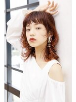 エルサロン 大阪店(ELLE salon)ウルフミディ/井上真由美