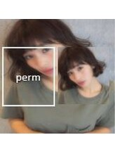 【CHELUMO PERM】髪質をいかしたニュアンスパーマ☆ナチュラルに自然に仕上げます☆