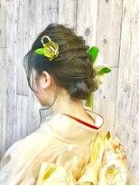 ヘアースペース ムーン(Hair Space MOON)成人式前撮り後撮り、結婚式お祝い事など振袖の着付けヘアセット