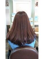 ヘアサロンアンドリラクゼーション マハナ(Hair salon&Relaxation mahana)広がりにくいAラインのセミロング!