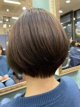 ヘアメイク ユーユ(Hair make U YU)の写真/【小樽駅徒歩3分/火曜営業】受賞歴のある実力派スタイリストが在籍☆お仕事終わりの19時でも予約可能です!