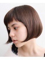 エトワール(Etoile HAIR SALON)ナチュラルな透明感ボブ