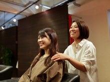ヘアサロン アンプー(hair salon un peu)の雰囲気(一人ひとりに似合うスタイルを見つけてくれる。)