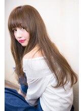 オーストヘアーセントラル(Aust hair central)【Aust】キャメルヌード☆セクシーロング