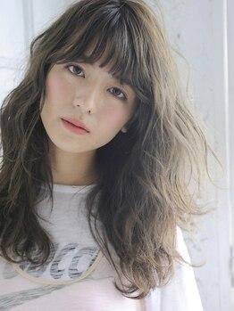 ヘアーアンドファッションシオミエイチ (hair&fashion shiomi H)の写真/《神戸唯一のノンダメージサロン(R)公式認定》ホリスティックカラーでノンダメージに発色&色持ち大幅UP!!