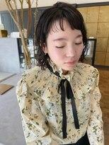 ヘアーアイスカルテット(HAIR ICI QUARTET)伸ばし中 × ミディアム × パーマ
