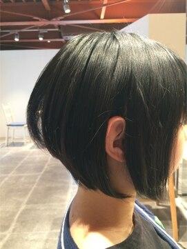 ナチュラル ヘアーデザイニング(Natural hair designing)[宇都宮 美容室 外国人風 Natural]グラデーションボブ☆