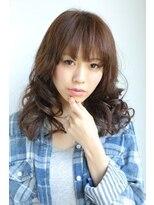 ギフト ヘアー サロン(gift hair salon)色気が必須セミロングスタイル  (熊本・通町筋・上通り)