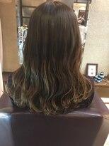 ゴッサムヘアー(Gotham Hair)チャコールグラデーション