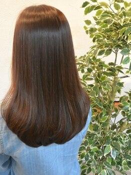 アンサルトヘア(unsarto hair)の写真/栄養をオーダーメイドで補給する【oggi otto】ツヤ・まとまりがない髪を改善する【酸・熱トリートメント】
