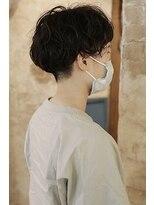 magiyhair【nico】ナチュラルパーマ小顔ショート刈り上げ