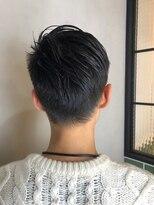 短髪 ビジカジ ビジネス グランジ 好感度 刈り上げ ネープレス