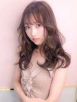 シマ セブン ギンザ(SHIMA SEVEN GINZA)fulffy bang×milk cocoa greyge