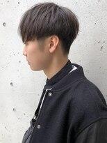 小顔/オリーブカラー/ハイライトカラー/クールショート/