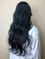 ヘア プロデュース キュオン(hair produce CUEON.)long × khaki ash