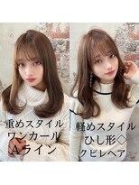 アフロート ワールド 渋谷(AFLOAT WORLD)渋谷アフロート☆張替 重めも軽めも自由自在にできる髪型☆