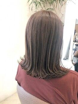 ティーズヘアー(T's HAIR)の写真/《イルミナカラー取扱店☆》ダメージの原因を取り除き、美しい髪へ導きます♪ツヤと透明感を◎