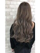 マージュ ギンザ(marju GINZA)モテ髪ショコラスノーグレージュ×とろみ透明感カラー