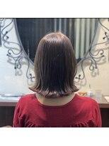 髪質改善ヘアエステ アリュール(allure)髪質改善カラーエステで艶髪外ハネボブ【新宿 髪質改善 allure】