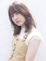 コクーン(Cocoon)【SHUN】メープルベージュミディ #厚めバング