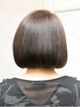 ハッピーハウス(HAPPY HOUSE)の写真/頭皮・髪にも優しい酵素トリートメントで髪質改善◎くせ毛・うねりでお困りのリピーター多数!