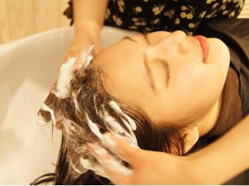 エールセット(eile set)の写真/【南行徳】髪質を改善するなら頭皮のケアから!髪を元気にする頭皮のクレンジングでスッキリしませんか?