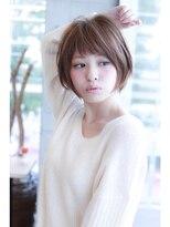 ひし形小顔ショートボブ Lino by U-REALM
