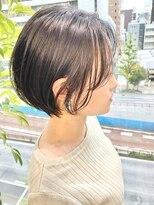 ヴィー 銀座二丁目(VIE)暗髪でもふんわり軽いショートボブ【銀座/VIE/つばさ】