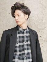 【ヘアジュレドゥ 花井】 ツーブロックでパーマの色男スタイル