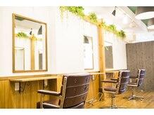 アグ ヘアー ハーマン 浜田山店(Agu hair hermann)の雰囲気(駅近の好立地。ゆったり寛げる居心地の良さ。※写真はイメージ)