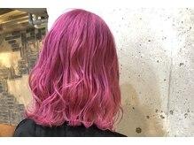 ピース(Hair Atelier P's)の雰囲気(ケアブリーチ×高発色カラーでダメージを最小限に☆¥12470~)