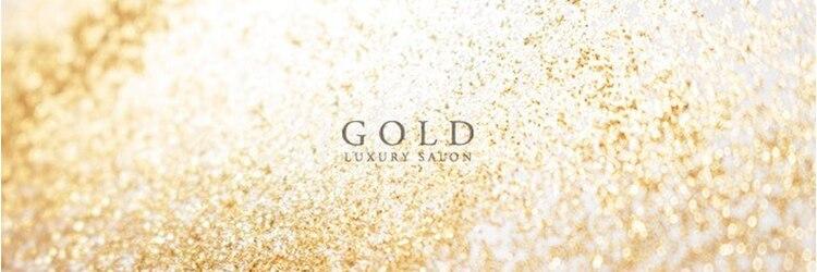 ゴールド(GOLD)のサロンヘッダー