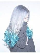 ヘアサロン エフ(HairSalon F)アイスシルバーターコイズ
