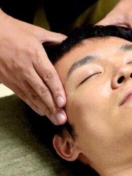 ナガモト(cut and refreshing NAGAMOTO)の写真/肌のむくみを改善して血行促進。清潔感ある好印象スタイルに【カット+バサラシェ-ビング+ホットスパ¥8000】