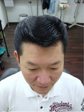 ヘアークラフト ゲッチ(hair craft GECCHI) 50`sサイドウェーブ
