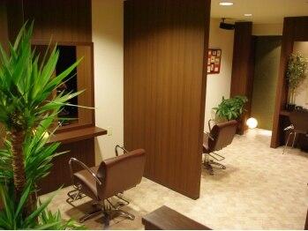 ジュノア(JUNOA)の写真/【春日原・大野城イオンすぐ♪】半個室だから人目を気にせずゆったりできる♪緑あふれる癒し空間≪JUNOA≫