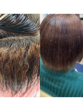 ラヴィヘアスペース(La Vie hair space)高難易度縮毛矯正