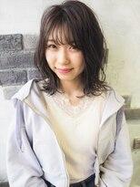 アルモヘアヴォーグ 静岡(ALMO hair VOGUE)【ALMO】シースルーバング☆ほつれ可愛いニュアンスボブ