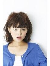 ルカ(Luca)【アクティ部女子にへ~んしん☆】ミディアム×ニュアンスカール