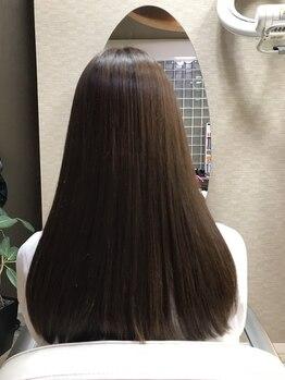 セッサ(sessa)の写真/【natural縮毛矯正&艶髪処方】薬剤に詳しいstylistがご提案!髪本来の美しさに☆お得なクーポンもチェック!