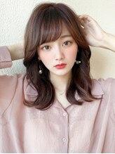 アフロート ディル(AFLOAT D'L)アフロートみきなエギョモリヨシンモリ顔まわり20代韓国ヘア髪型