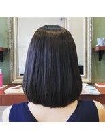 ヘアガーデンプア(Hair Garden Pua)ツヤ髪ボブwithイルミナカラー