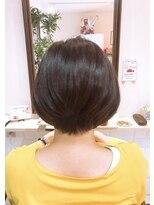 ルルカ ヘアサロン(LuLuca Hair Salon)LuLucaお客様☆スナップ 前下がりショートボブ