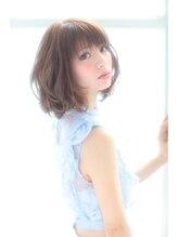 セレスト なんば店(Celeste)うぶ毛☆ふんわりフェミニンボブ♪【なんば店】