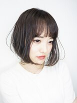 マックスビューティーギンザ(MAXBEAUTY GINZA) セミウェットゆらぎボブ☆銀座/髪質改善/銀座駅