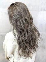オーブ ヘアー アオ 四日市店(AUBE HAIR ao)【AUBE HAIR】グレージュ_ハイライトカラー