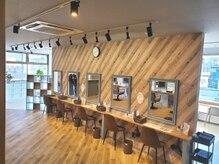 カラーズカフェ 高崎店(Colors cafe)の雰囲気(こだわりの内装です◎【高崎/髪質改善】)
