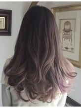 ヘアーカラーサロン ノーチェ(Hair Color Salon noce)柔らかな透明感** レディモカグレージュ