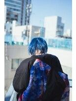 サイ(sai)【sai】blue short