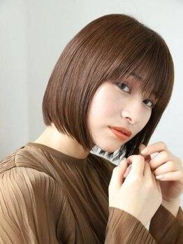 エクリ シセイドウ 麻布十番店(equri×SHISEIDO)の写真/髪の悩みや状態に合わせたカット技術でクセ・うねりのお悩みを解消♪もっと自分の髪が好きになる!